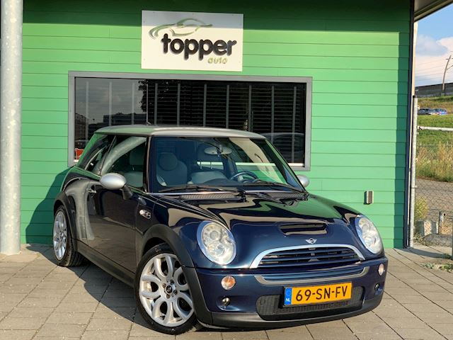 Mini Mini 1.6 Cooper S Checkmate  / 171PK / Airco /