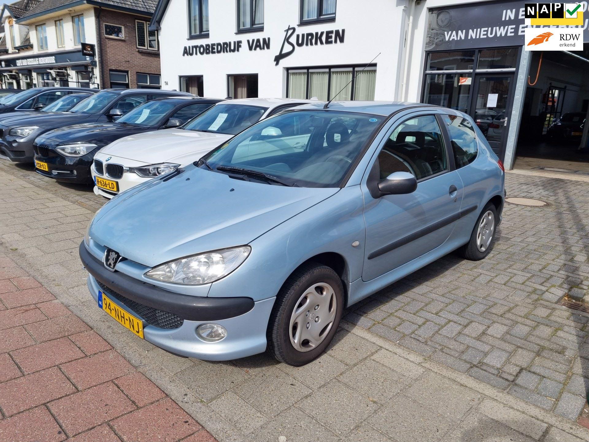 Peugeot 206 occasion - Autobedrijf van Burken