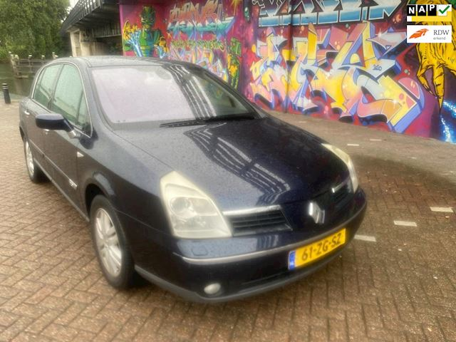 Renault Vel Satis 2.0 16V Exception 1E EIGENAAR in super staat tot laatste km dealer onderhouden rijd perfect vele extra's