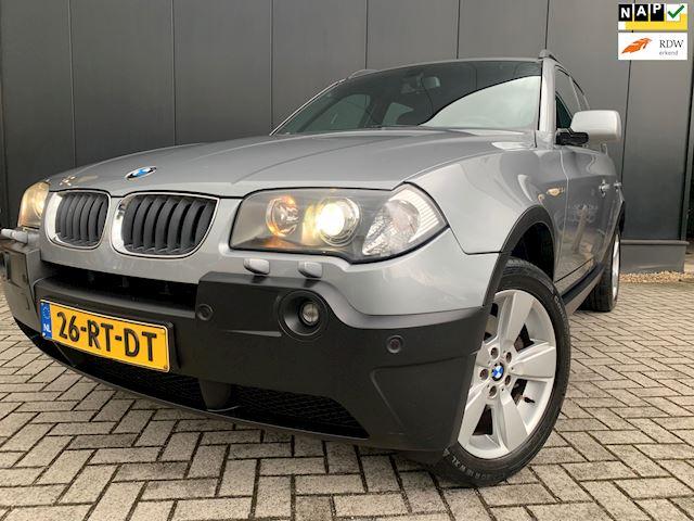 BMW X3 3.0i '05 Aut/Leder/Navi/18'Lmv/OrgNl/Nap/Youngtimer