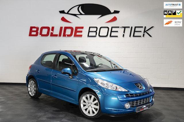Peugeot 207 1.6-16V T 150PK Féline |Panoramadak |½ Leder- Bekl. |1e eigenaar |sportstoelen