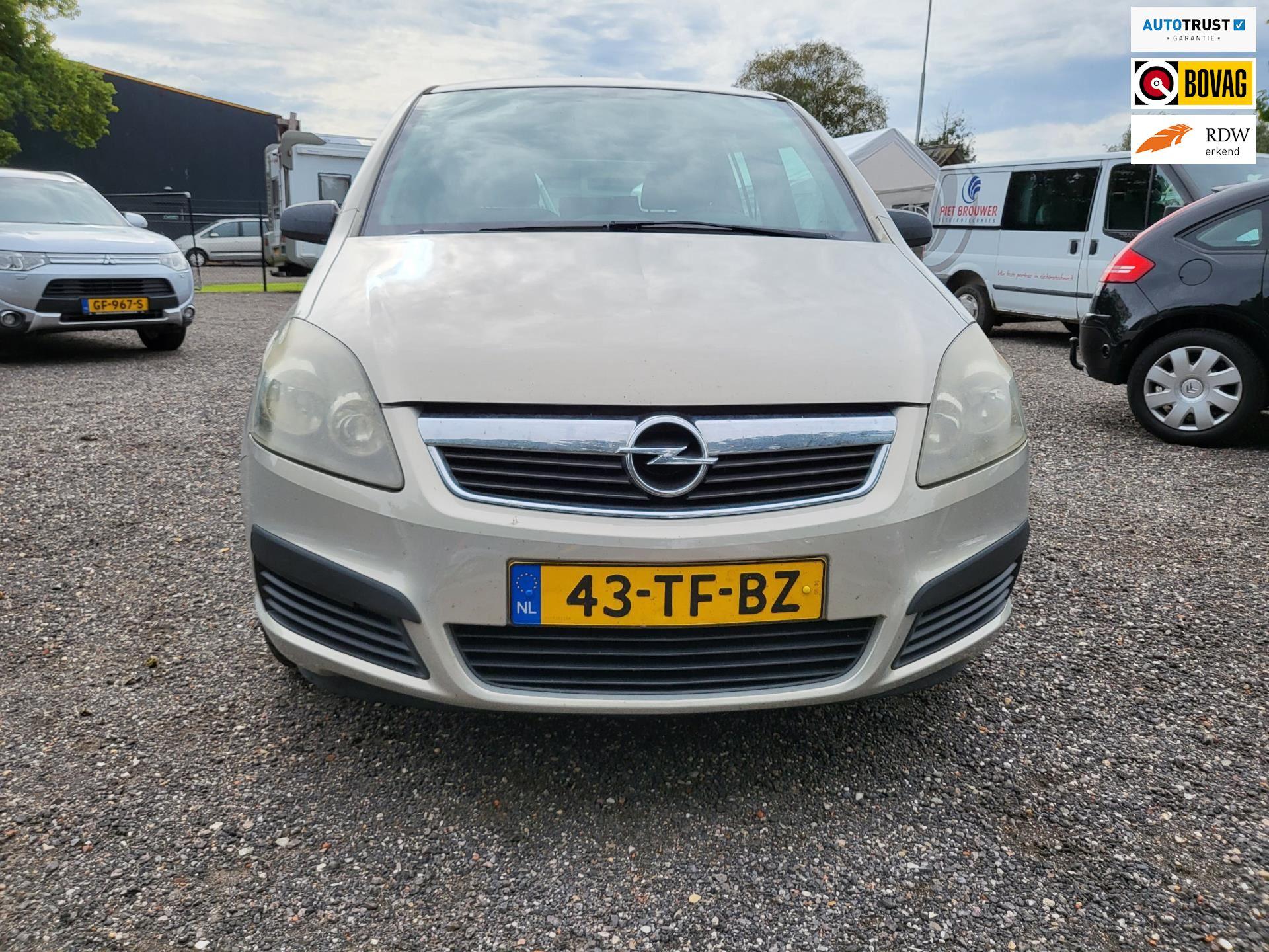 Opel Zafira occasion - Autobedrijf Benjamin