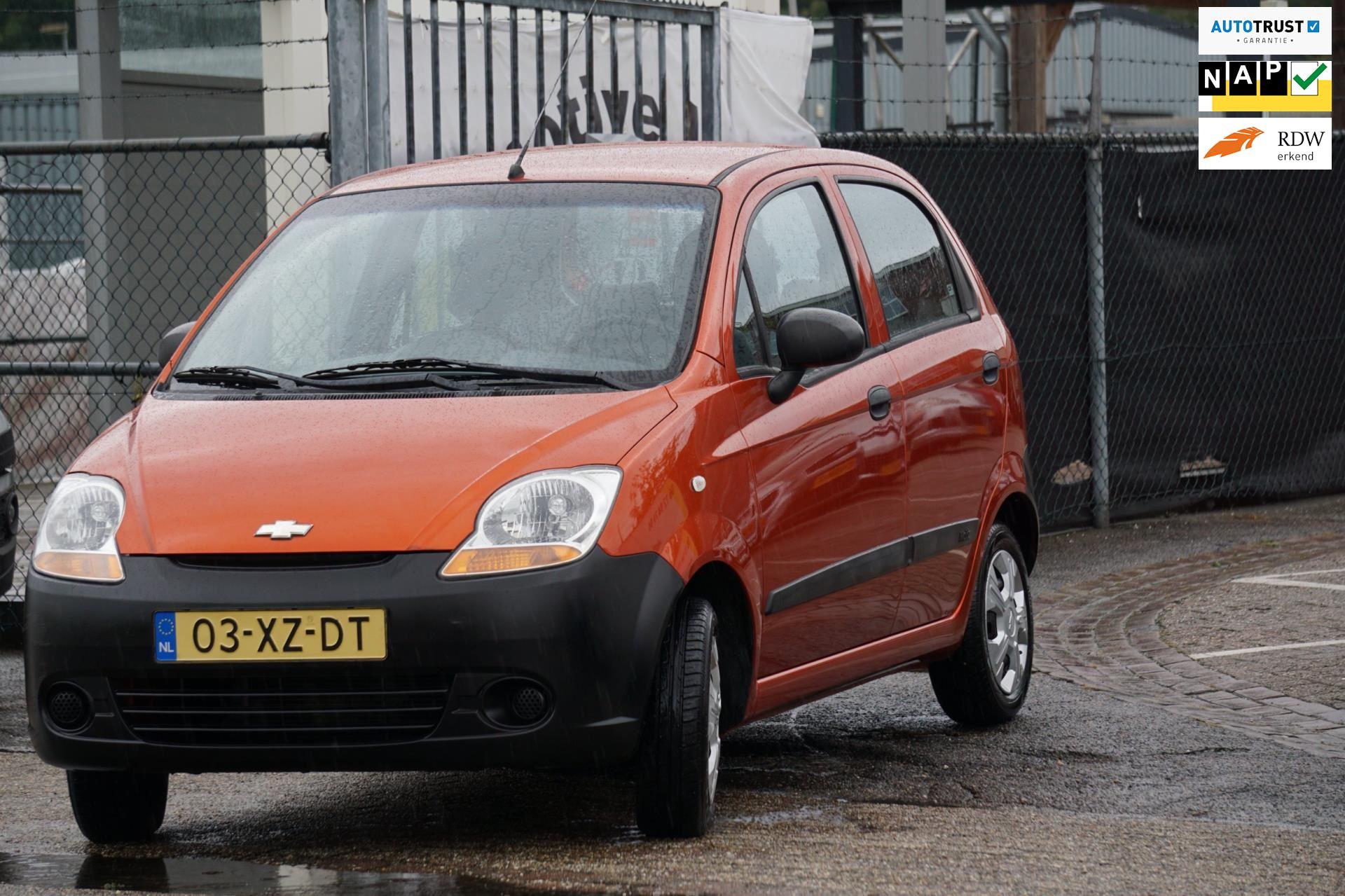 Chevrolet Matiz occasion - Automotive-Venray