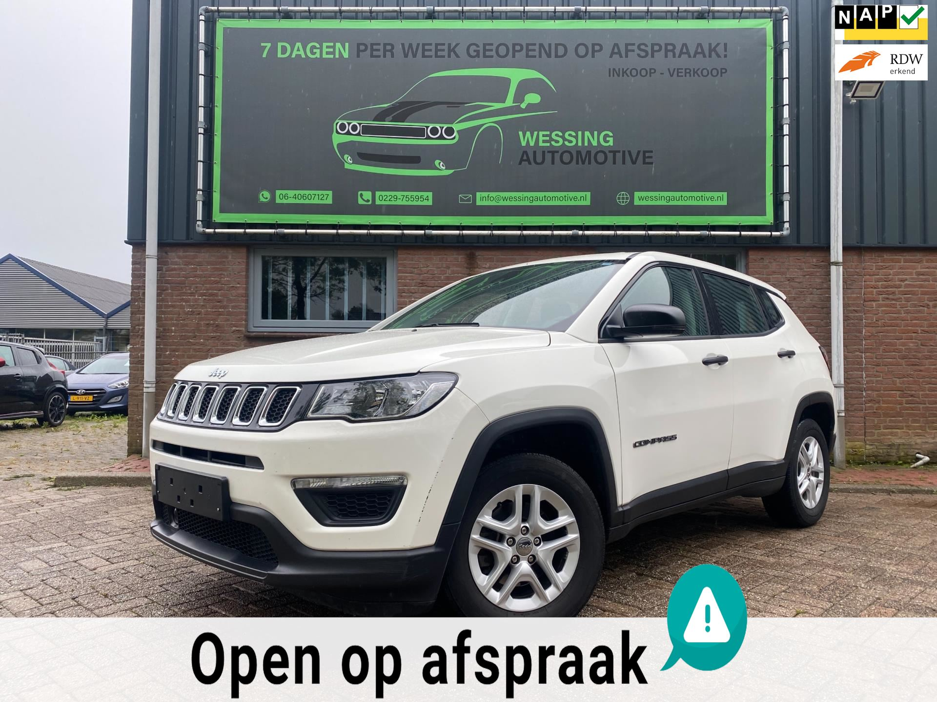 Jeep Compass occasion - Wessing Automotive