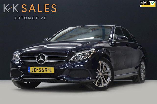 Mercedes-Benz C-klasse 350 e Lease Edition EX BTW 279PK![BURMESTER, CAMERA, TREKHAAK, CRUISE, VERWARMDE SPORSTOELEN, NIEUWSTAAT]
