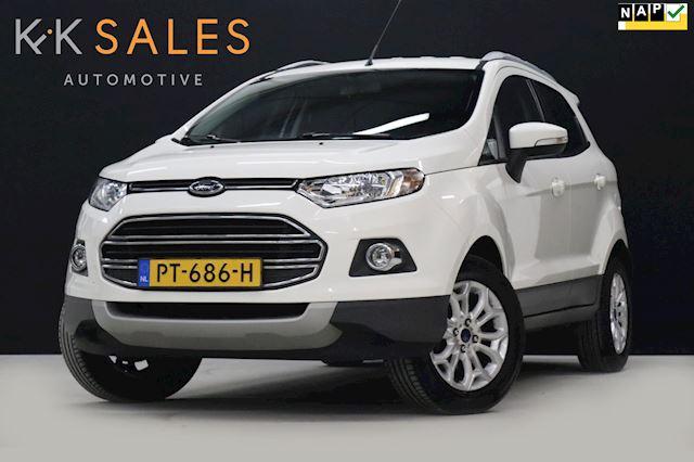 Ford EcoSport 1.0 EcoBoost Titanium [CAMERA, AUT. AIRCO, NAVI, DAKRAILS, BLUETOOTH, CENTRALE DEURVERGRENDELING, RADIO, NIEUWSTAAT]