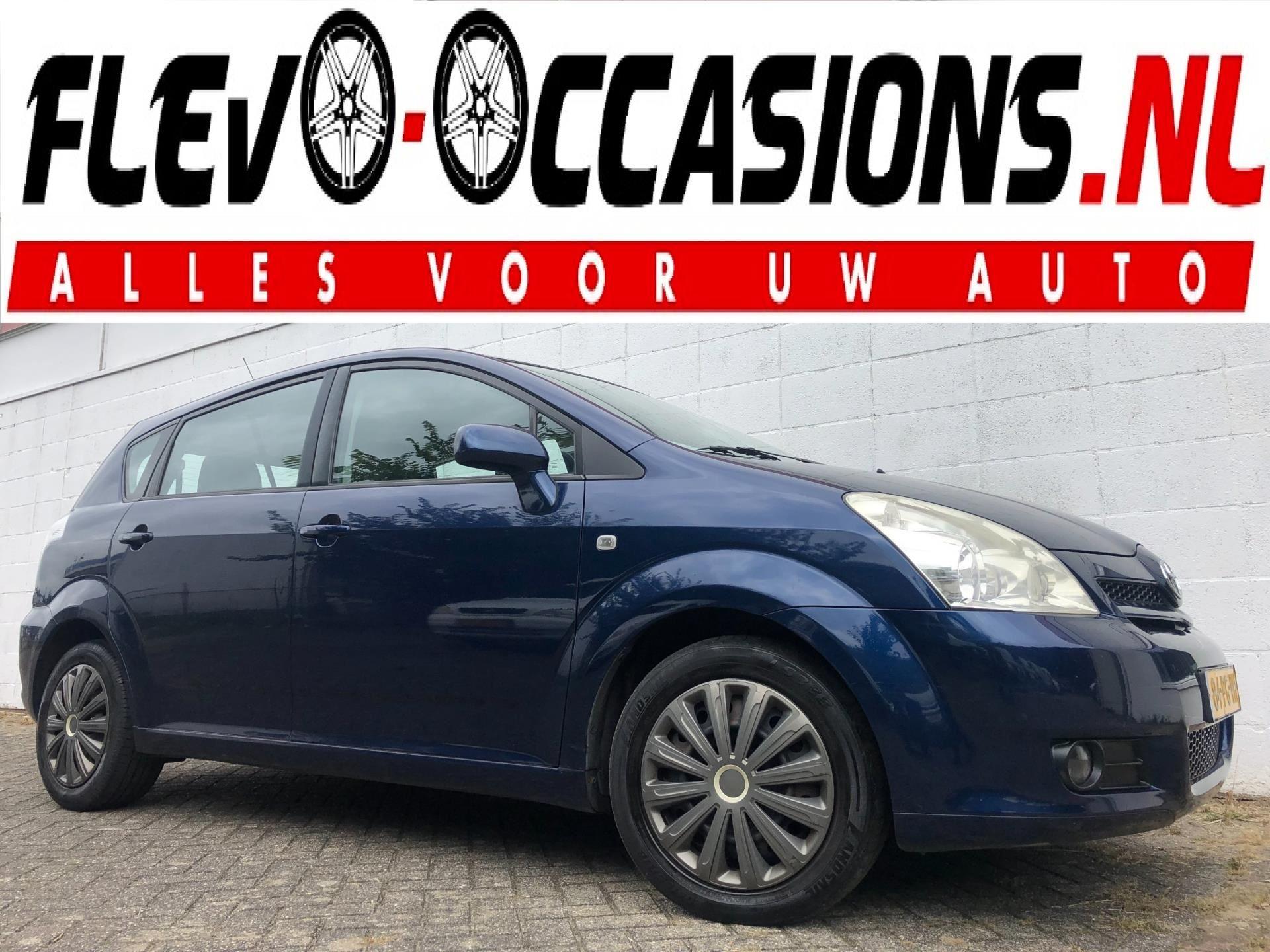 Toyota Corolla Verso occasion - Flevo Occasions
