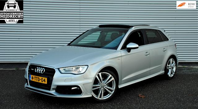 Audi A3 Sportback 1.4 TFSI CoD Ambition Pro 2x S-Line / automaat / navi / pano /pdc