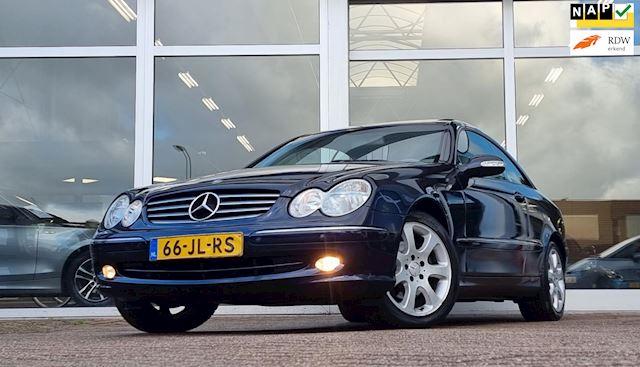 Mercedes-Benz CLK-klasse Coupé 320 Elegance Super mooi 2e Eigenaar Lerenbekleding
