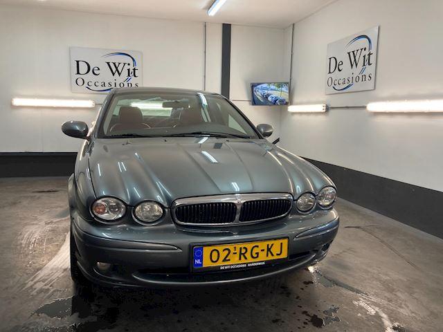 Jaguar X-type 2.0 V6 Business Edition Plus uitv. in ZEER NETTE STAAT !! MOOIE YOUGTIMER met NWE APK/GARANTIE.