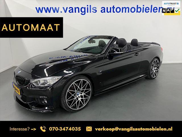 BMW 4-serie Cabrio 435i M Sport | AUTOMAAT | LED | LEDER | KEYLESS | LM VELG 20 | NAVIGATIE | M-PERFORMANCE |
