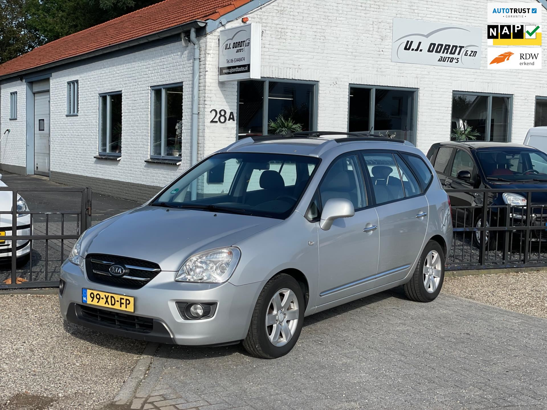 Kia Carens occasion - U.J. Oordt Auto's