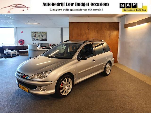Peugeot 206 SW 2.0 GTI Apk Nieuw,Clima,Cruise,Leder bekleding,N.A.P.Lm velgen,Goed onderhouden GTI,Topstaat!!