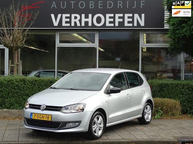 Volkswagen Polo 1.2-12V BlueMotion MATCH - AIRCO - HALF LEDER - MULTI STUUR - APK JUNI 2022