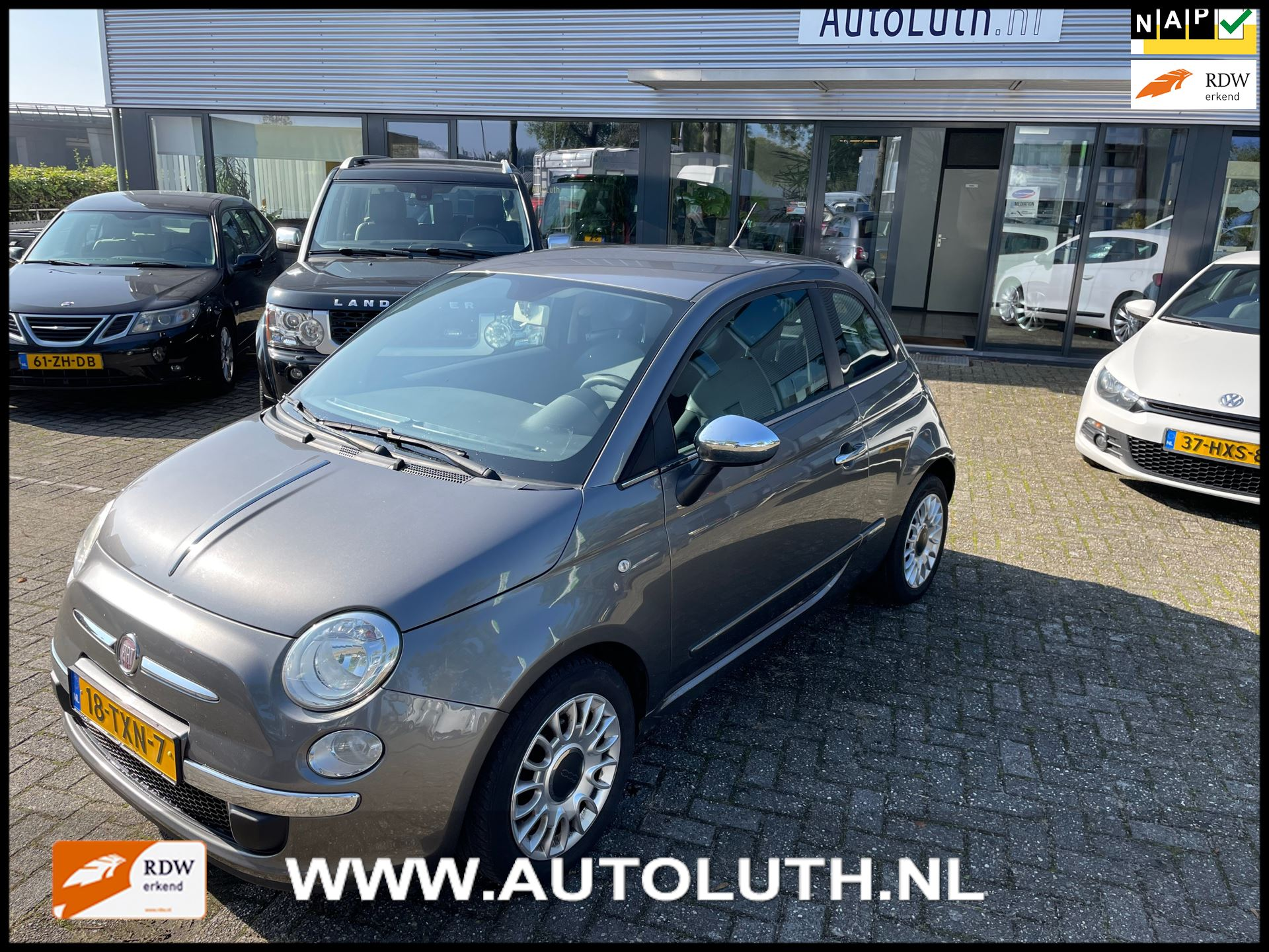 Fiat 500 occasion - Luth BV