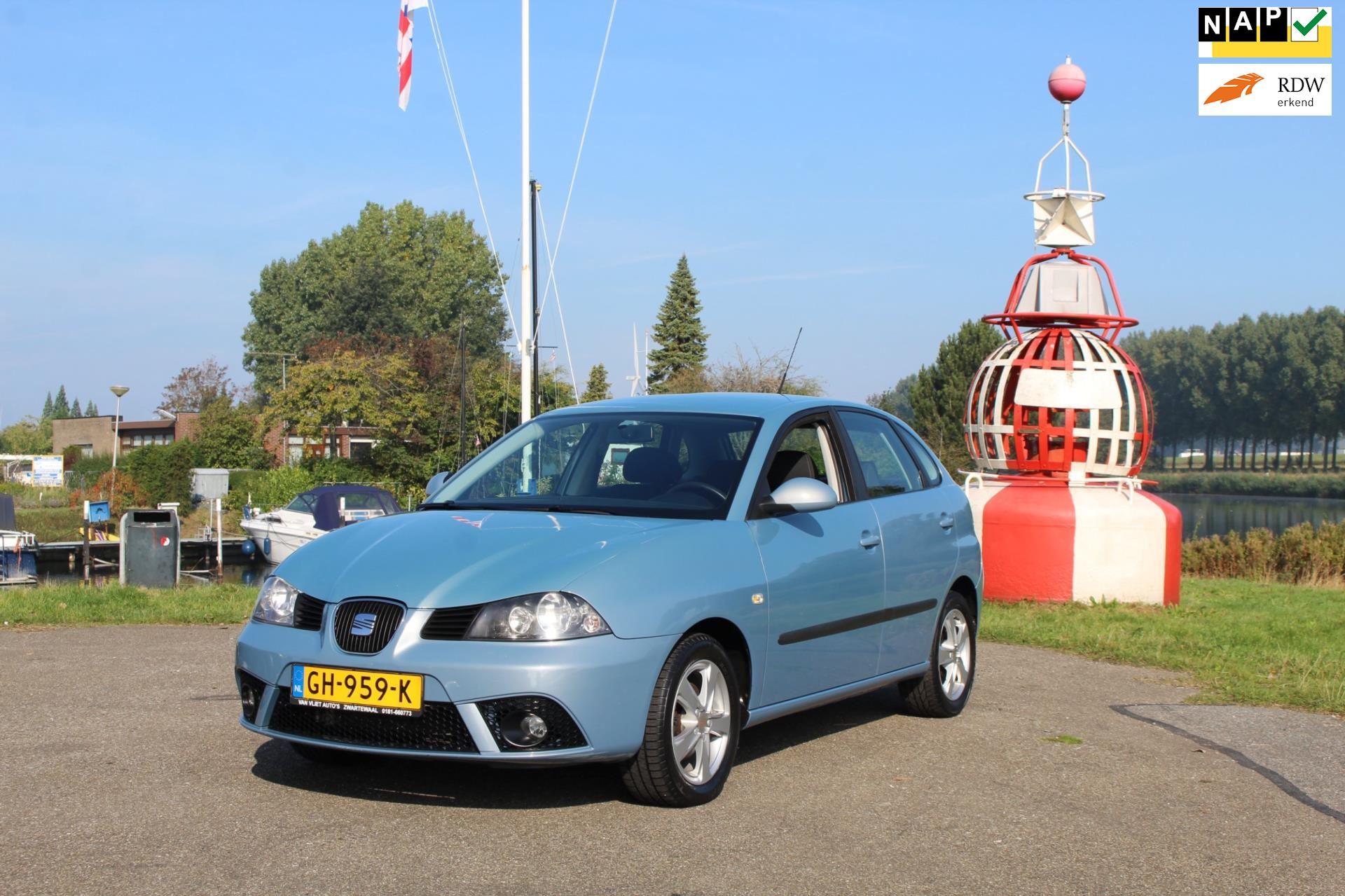 Seat Ibiza occasion - Van Vliet Auto's