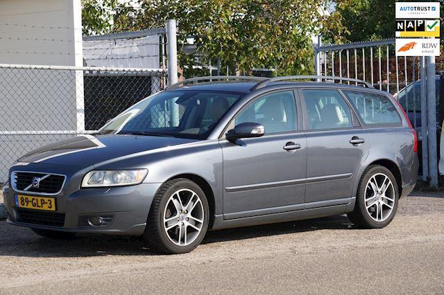 Volvo V50 1.6D Edition II, Leder, perfect onderhouden, nette auto, inruil mogelijk!