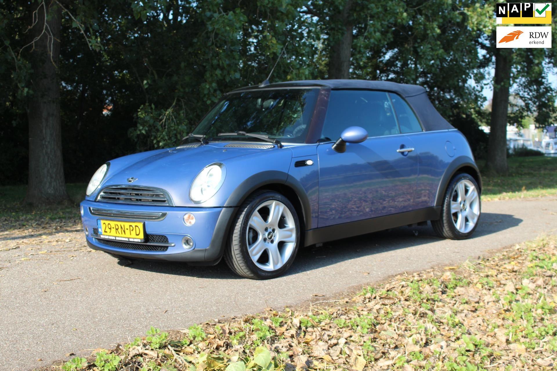 Mini Mini Cabrio occasion - Van Vliet Auto's