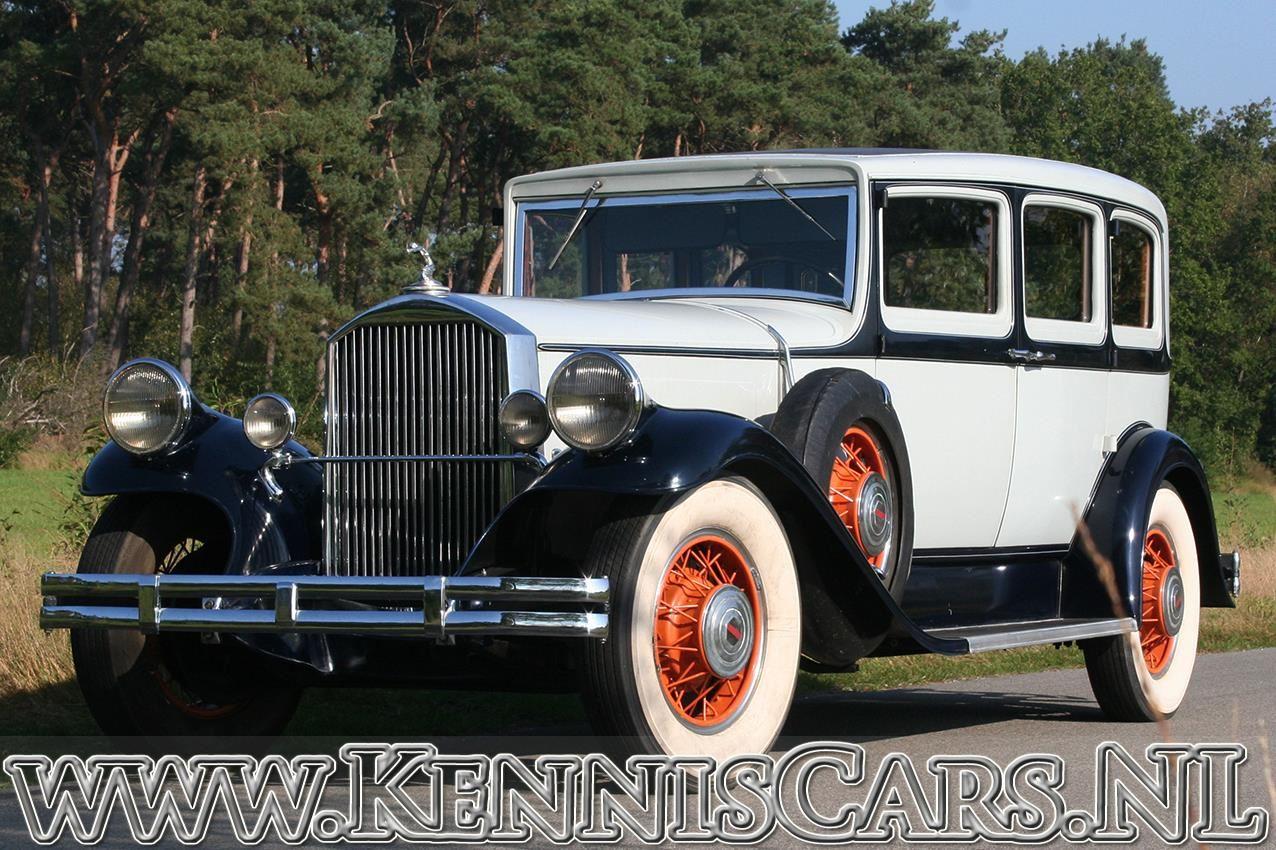Pierce-Arrow 1931 Model 43 Seven Window Sedan 5 Passenger occasion - KennisCars.nl