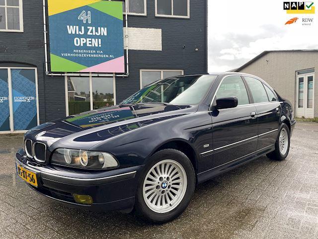 BMW 5-serie 520i Executive NAP/APK 11-2022/LEER/CLIMA/CRUISE