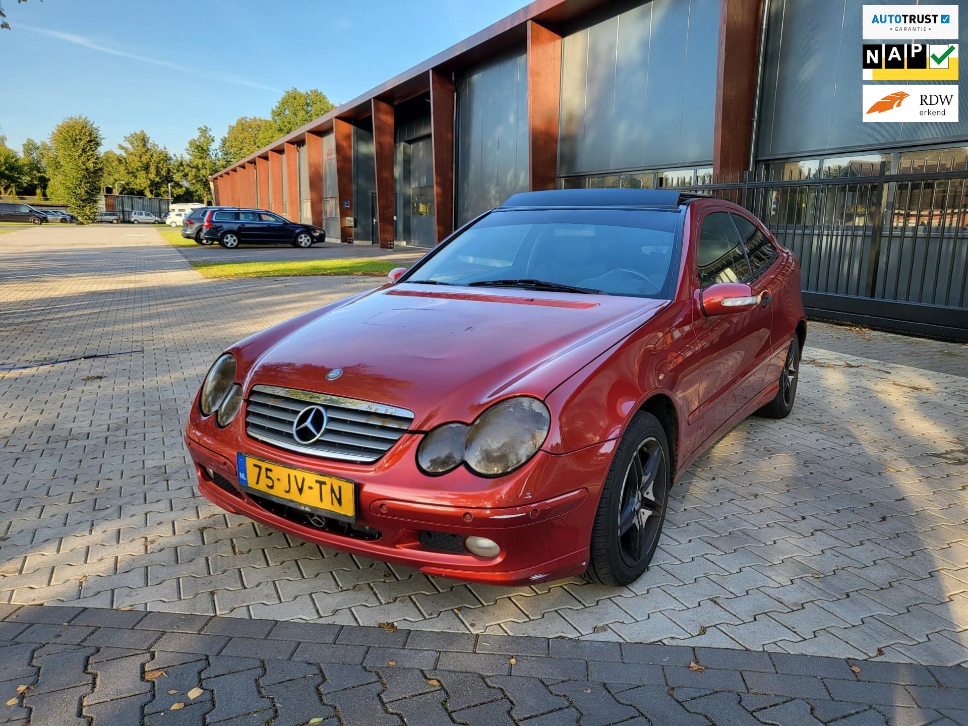 Mercedes-Benz C-klasse Sportcoupé occasion - Autobedrijf Benjamin