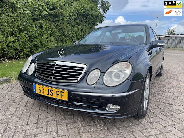 Mercedes-Benz E-klasse 240 Avantgarde,Automaat,Bj 2002,Leder,Navi,Clima,Cruise,Parkeersensoren,Elekt.Stoelen,177pk