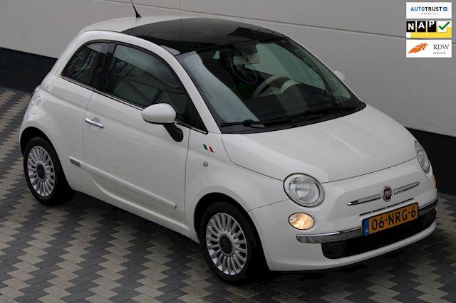 Fiat 500 1.2 Lounge Automaat Pano Airco Goed onderhouden NAP!
