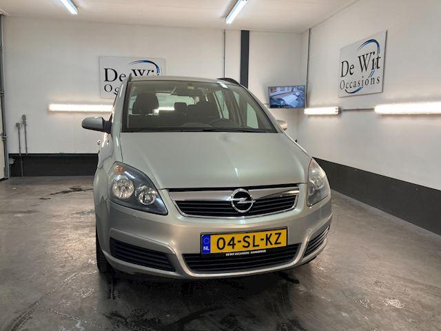 Opel Zafira 1.8 Enjoy 7 PERS. uitv. van 1e EIG. incl. NAVI./AIRCO in NETTE STAAT !! NWE APK/GARANTIE.