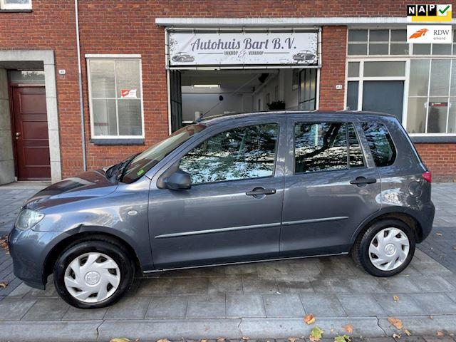 Mazda 2 1.4 Exclusive 105.000 km! Airco! Trekhaak! Nieuwe APK! NAP logisch!