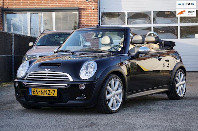 Mini Mini Cabrio 1.6 Cooper S Chili, super mooie auto, goede opties, inruil mogelijk!