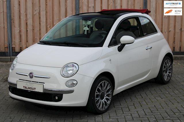 Fiat 500 1.2 Lounge 500C CABRIO |LEER|AUX|16