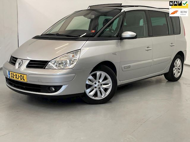 Renault Espace 2.0T Expression / 7-persoons / Trekhaak / Pano / Navi