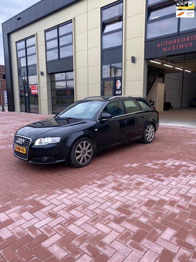 Audi A4 Avant 3.0 TDI quattro S-Line / Xenon / Navigatie / Bose installatie / Zwarte hemel / Trekhaak
