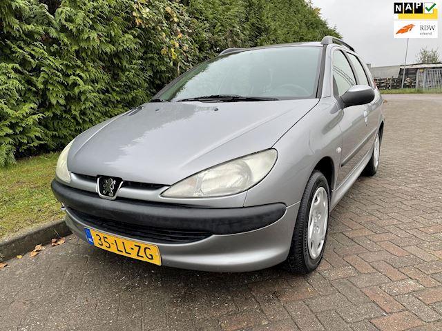 Peugeot 206 SW 1.4 X-line,2e Eigenaar,Bj 2003,N.A.P,Elekt.Ramen,Zeer Zuinig