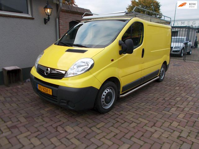 Opel Vivaro 2.0 CDTI L1H1 airco bj 2009 nette bus ex btw